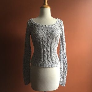 AMERICAN EAGLE OUTFITTERS Gray Sweater XS
